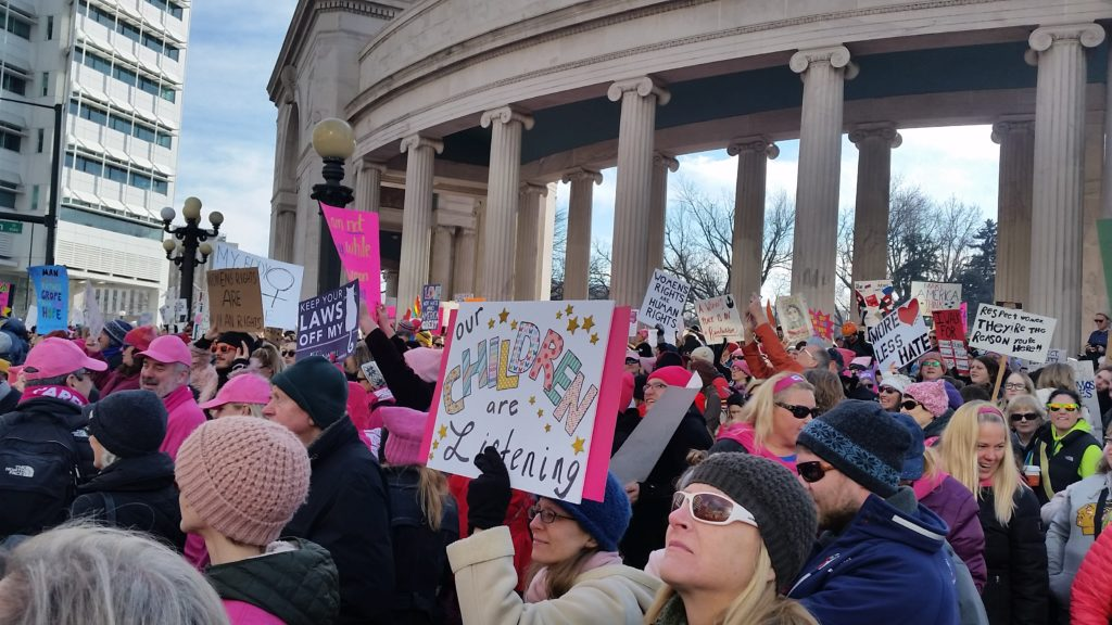 Women's March on Denver (Photo by Hammster Media)